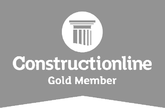 Construction Line Gold Icon